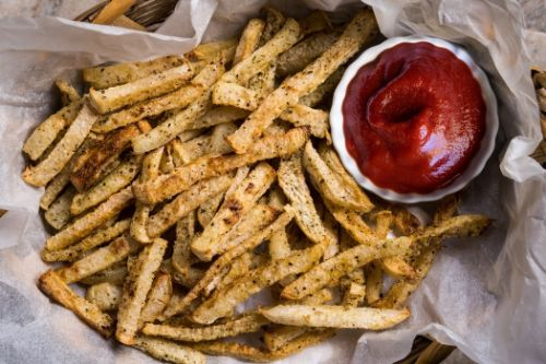 3. Keto Air Fryer Jicama Fries - keto Meals Ideas for Vegetables