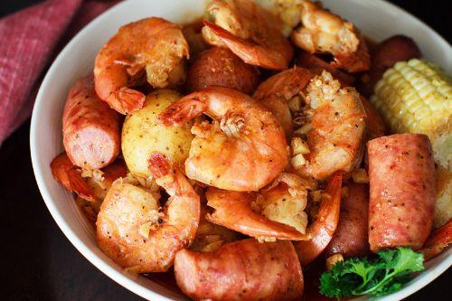 4. Instant Pot Whole ShaBang! Shrimp Boil Recipe