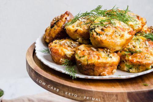 4. Smoked Salmon Keto Mini Quiches