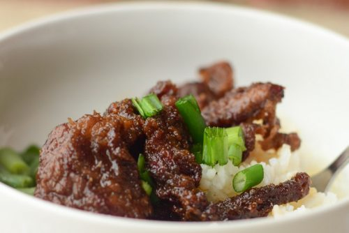 5 Air Fryer Mongolian Beef - 6 Points