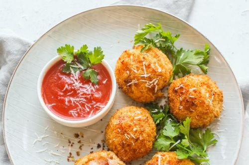 5. Air Fryer Crab and Parmesan Arancini