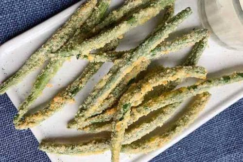 5. Air Fryer Keto Green Beans - keto Meals Ideas for Vegetables