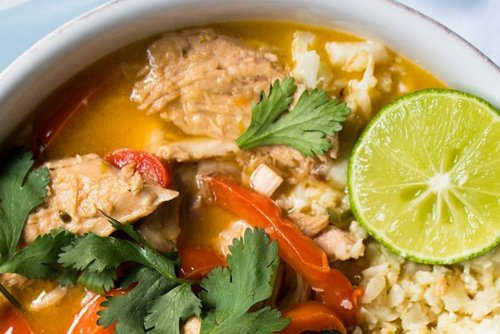 5. Thai Coconut Curry Chicken - Meals for Freezing Recipes