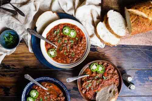 6. No Bean Keto Chili - Instant Pot Beef Recipes