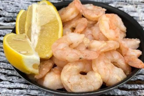 7 AIR FRYER, LEMON PEPPER SHRIMP
