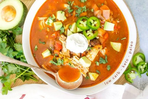 7 Keto Instant Pot Chicken Enchilada Soup