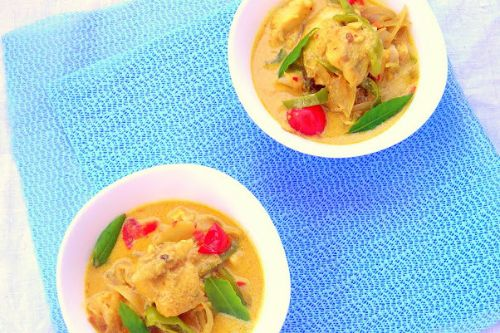 7. Keto Coconut Fish Curry - Weight Watchers Fish Recipes