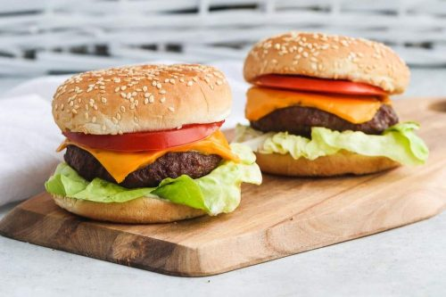 8 Air Fryer Hamburgers