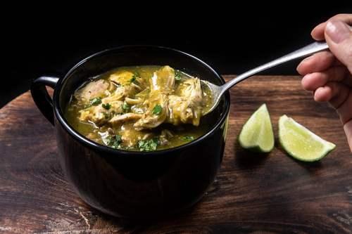 8. Instant Pot Chili Verde KETO Recipe