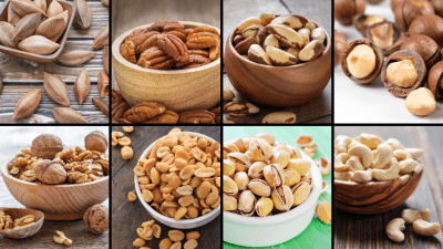 Keto Diet Start-Up Guide - Nuts & Seeds