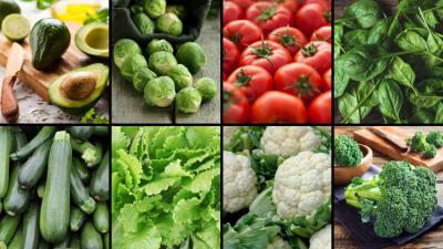 Keto Diet Start-Up Guide - Veggies