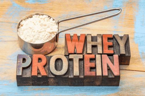 Whey Powder - muscle bulk