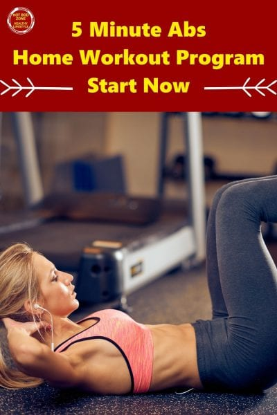 5 Minute Abs - Home Workout Program - Start Now